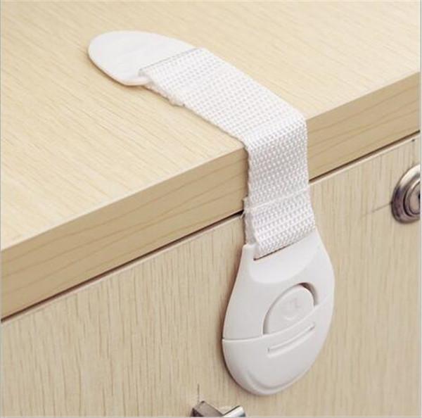 Armoire Porte Tiroirs Réfrigérateur Toilette Allongé Bendy Sécurité Serrures En Plastique Pour Enfant Enfant Bébé Sécurité G317