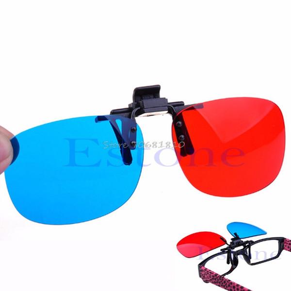Compre Nuevos Vidrios Azules Rojos Que Cuelgan El Marco Vidrios 3d ...