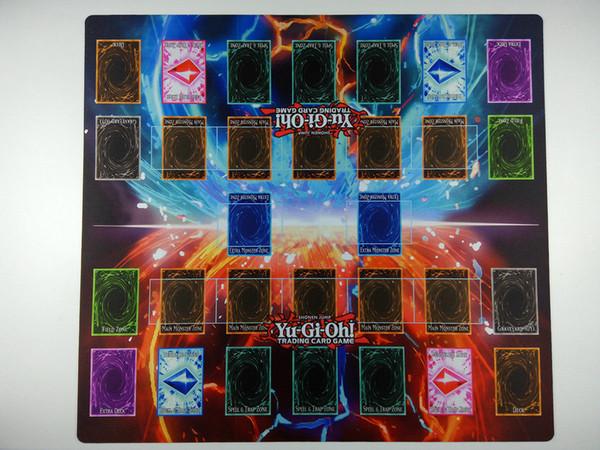 best selling Yu-Gi-Oh! 2-Player Master Rule 4 Link Zones custom Playmat TCG Mat New Design