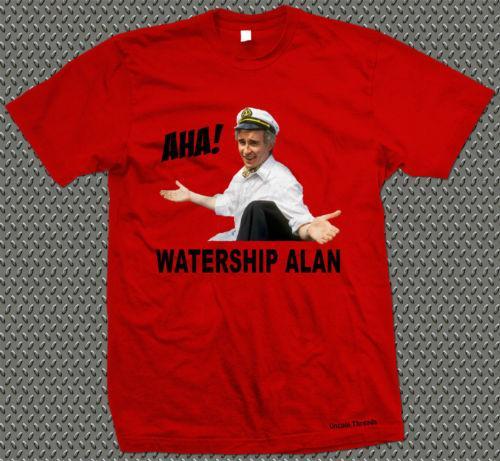 Watership Alan Design T-shirt stampata Sono Alan Partridge Funny Humourcool Casual Pride T Shirt Uomo Unisex New Fashion