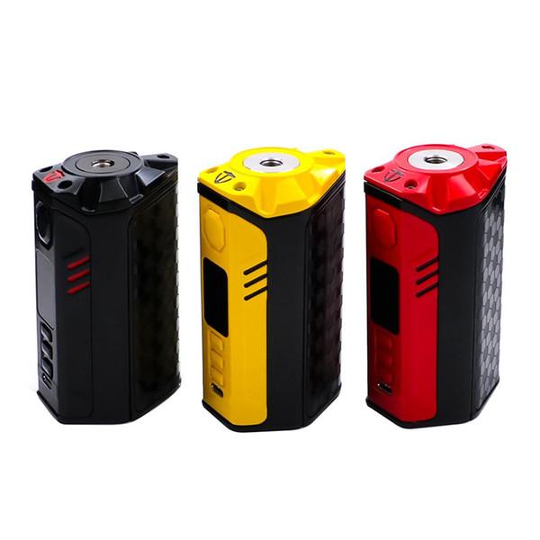 100% autentico Pensa a Vape Finder 250 W DNA Box 250C Mod Evolve DNA250C Chip Triple 18650 a colori TFT E-cig MOD