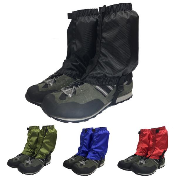 1Pair Waterproof Outdoor Hiking Walking Climbing Hunting Snow Legging Gaiter E/_P