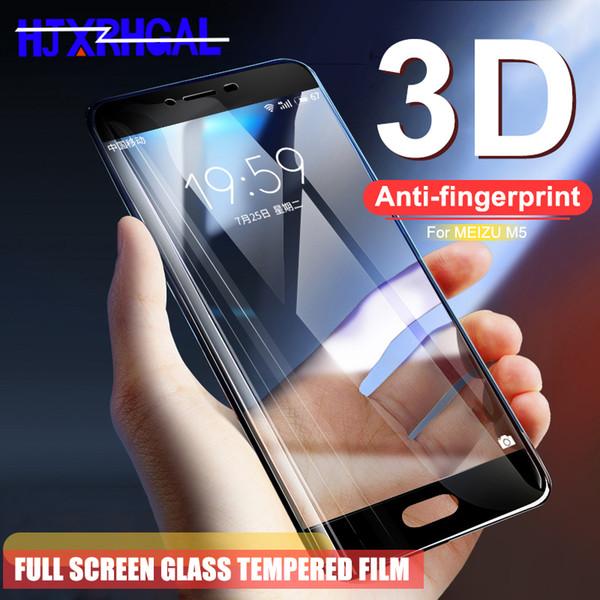 Cubierta completa de vidrio templado para Meizu M3 Nota M5 M5C M5S M6 M5 M6 Nota MX6 Protector Glaas para Meizu Pro 6 7 Película