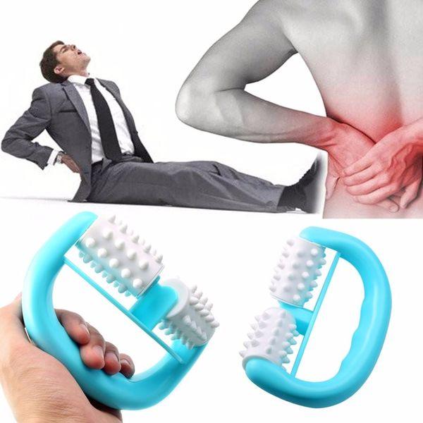 Handheld Full Body Anti Cellulite Massage Cell Roller Massager Mini Wheel Ball Foot Hand Body Neck Head Leg Pain Relief