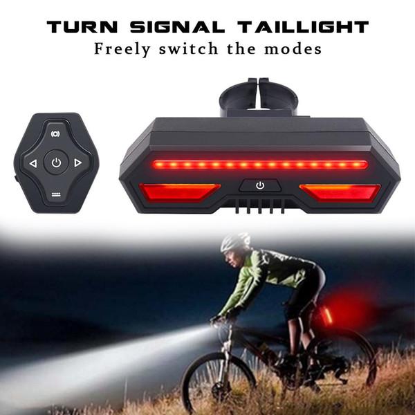 Lampe de lumière arrière de vélo rechargeable LED USB 85 Lanterne rouge de montage Lumen pour les accessoires de lumière de bicyclette