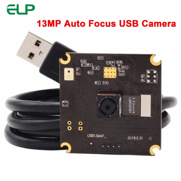 13 MP SONY IMX214 3840 * 2880 4K USB Camera Module MJPEG YUYV Autofocus UVC USB Camera Board per Android Linux Windows MAC OS