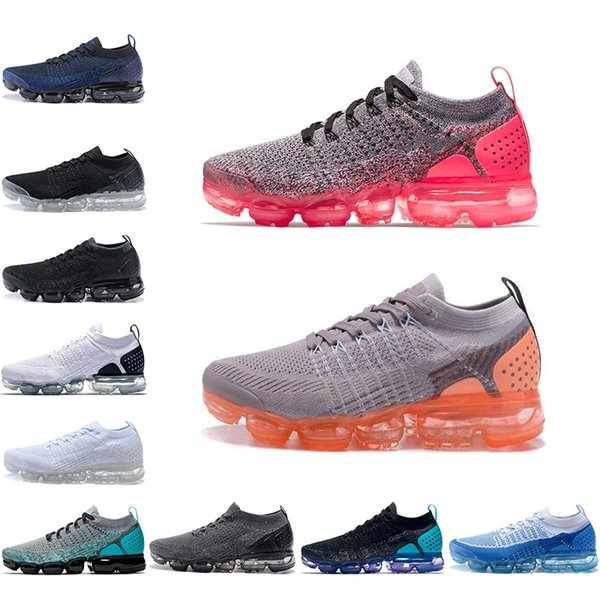 info for e3492 a9008 2018 New Vapormax 2.0 Running Shoes Hot Punch Oreo Reverse Orca Dusty  Cactus Triple Black White Men Womens Sports Sneakers Mens Running Shoes  Walking ...
