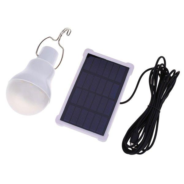 Acheter KKBOL 1.5W 5V 140LM LED Ampoule Portable Camping Lampe Pour Chambre  Jardin Salon Blanc En Plein Air Solaire Alimenté Lampes Livraison ...