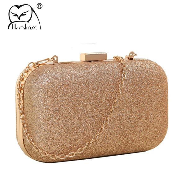 Women Cute Clear Acrylic Box Clutch Crossbody Purse Evening Bag Q1A8