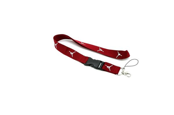 HOT Free shipping Wholesale AJ Lanyard mobile Phone card lanyard neck lanyards , cell phone straps keychain gifts