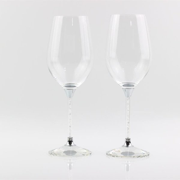 lead free customed crystal toasting glasses stemware wedding wine glass anniversary gifts party celebration drinking goblet cup