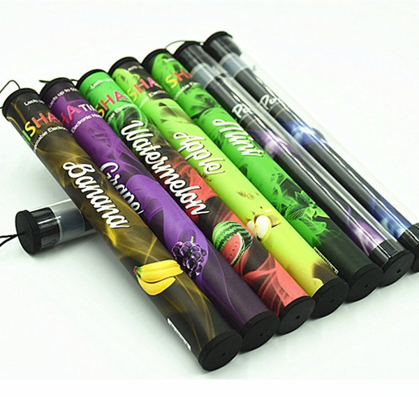 Disposable Electronic Cigarette On Sale Enough 500 Puffs Various Fruit Flavors Colorful Disposable Hookah Pen 30 Flavors H0160-1