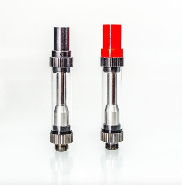 100% Original Amigo Vaporizer Stift 510 Glaspatrone Amigo Vaporizer Pen 510 Gewindekartusche Big Loch Thick Oil Glas Tank Vape
