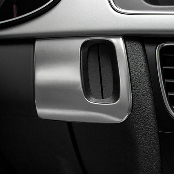 Car Accessories Interior Car Keyhole Decorative Frame Cover Trim Stainless Steel Car 3D Strip Sticker for Audi A5 A4 S4 09-15