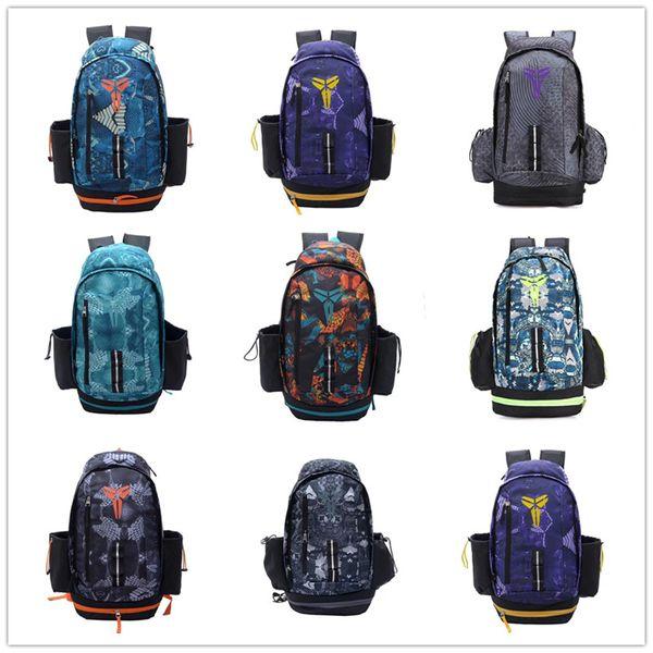 Wholesale Designer Backpack Kobe Home Purple Yellow Mamba Basketball Shoes Duffle Bags Women Mens High quality Travel School Sports Backpack