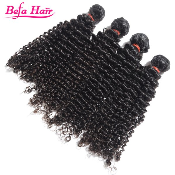 Befa hair 8-30 inch brazilian virgin hair jerry curl 100% unprocessed Human Hair Extensions cheap price with fast shipping