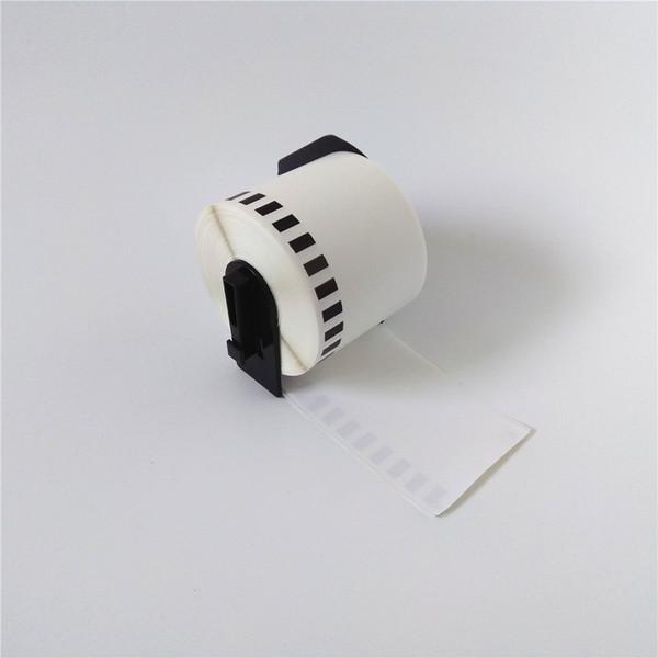 top popular 20 x Rolls Brother DK-22205 DK22205 DK 22205 DK 2205 DK2205 DK-2205 62mmx30.48m Continuous Paper Labels with black plastic holder 2021