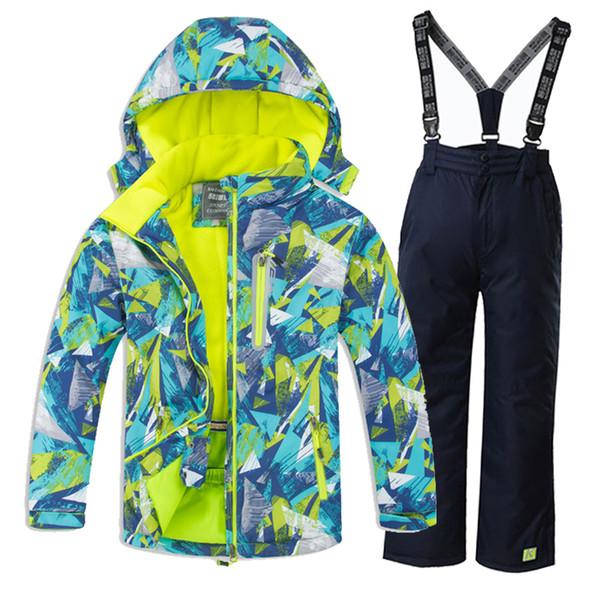 Acheter Garçons Enfants Ski Combinaisons