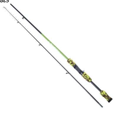 3 colors 1.8M portable fishing rods 1/8-3/4oz Test M Test Carbon Fiber Camouflage Lure Casting Spinning Fishing Rod