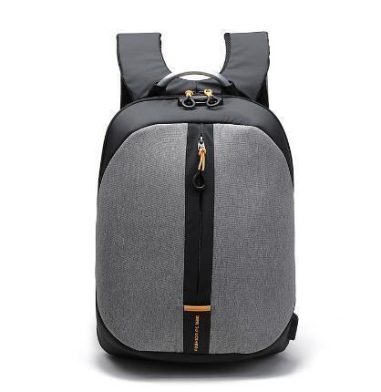 Saco de viagem de negócios dos homens de carregamento USB senha anti-roubo senha bloqueio duplo ombro saco de computador saco de estudante