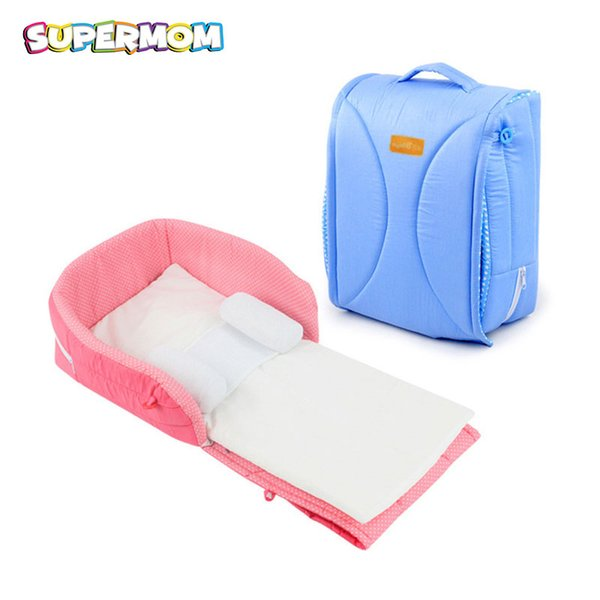 Portable Infant Sleeper Baby Travel Bed Folding Newborn Crib With Pillow Cushion Car Carrycot Bed Tent Girl Boy Babyfond Affordable Baby Crib