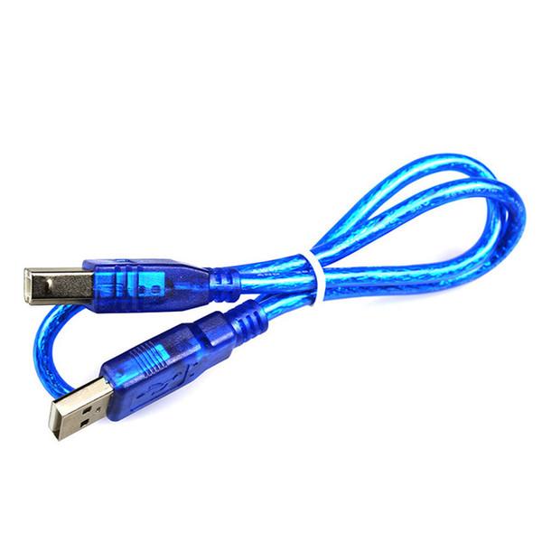 Weikedz 10pcs/50cm USB Cable Special for Arduino MCU Uno R3 Mega 2560 Also for Printer