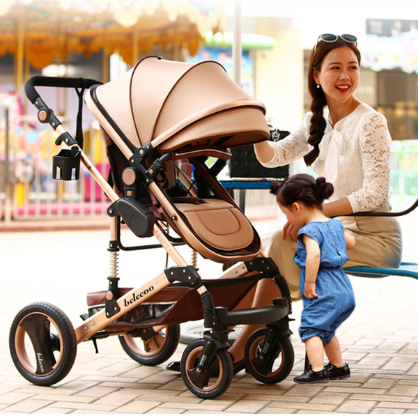 Envío gratis cuatro ruedas luz paraguas cochecito ligero peso cochecito de bebé alta calidad barato marca carro plegable