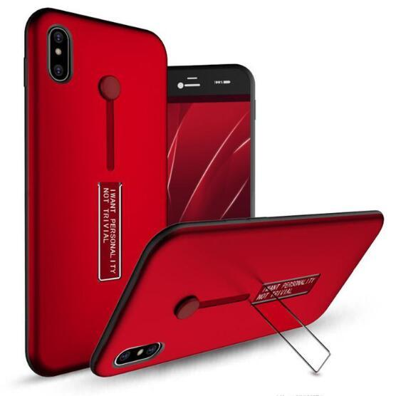 For S9 S8 Plus S7 Edge Note 8 9 For Iphone X XS MAX XR 8 7 6S Phone Case with Slid Card Holder Mobile Back Cover Shell Protector Shockproof