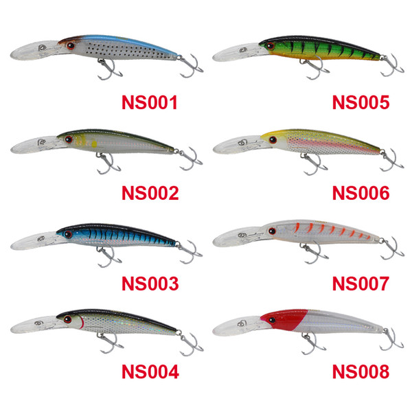 Noeby Big Minnow 120Mm 32G Floating 0-5M Trolling Fishing Lure Isca Artificial Para Pesca Hard Baits Plastic Fly Fishing Lures