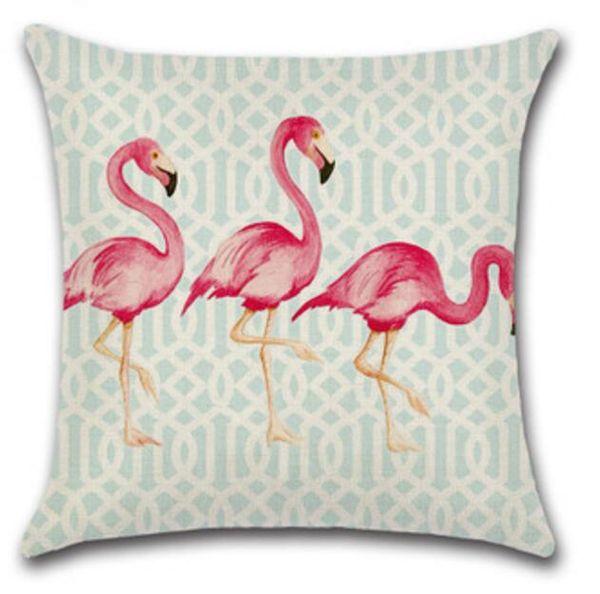 Federe Per Cuscini San Valentino.Acquista Fodere Cuscini Vendita Calda Flamingo Federa San Valentino Federe Cuscini Scivoli Cuscini Fodere Cuscini In Cotone Lino 18 18 Pollici 45