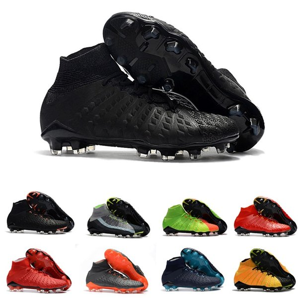 2018 Mercurial Superfly VI 6 360 Elite Magista Obra II 2 Hypervenom Phantom III 3 DF Tiempo Legend 7 FG CR7 Mens Kids Soccer Football Shoes