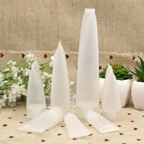 TAMAX PF006 15g 30g 50g 100g Claro Vacío gel cosmético Crema Loción Pasta de dientes Envases de embalaje de plástico Suave Squeeze Bottle Tube