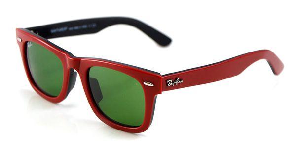 Red and black Frame Green Lens 50mm