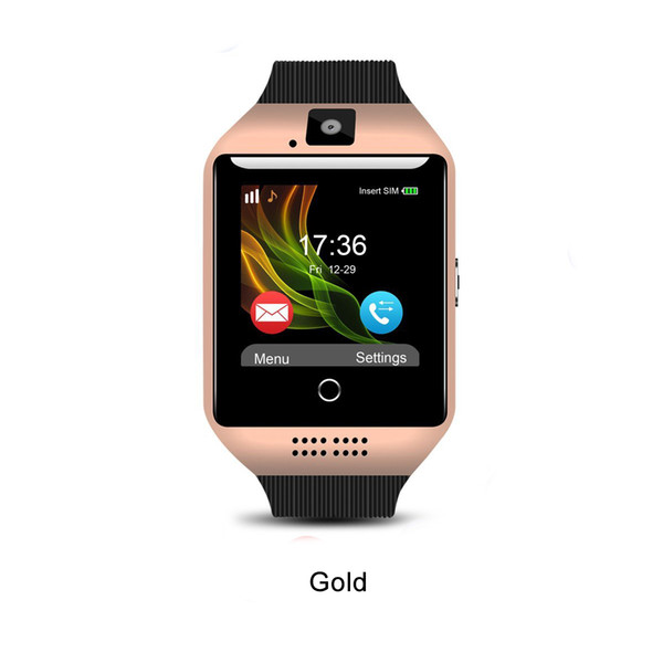 Q18 Smart Watch_Gold