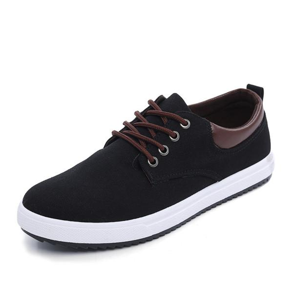 The New Style Men's Canvas Casual Shoes Fashion Comfortable Driving Shoes Size 39-45 AK004