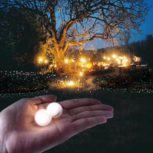 50 teile / los LED Festival Party Lichter Wasserdichte LED Berry Lichter Fairy Glowing Berries Pearl Lampe für Hochzeit Beleuchtung Dekoration