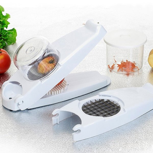 Multi -Function Fruit Vegetable Shredder Cooking French Fry Potato Strip Cutter Kitchen Tools Device Blades Potato Mashers Ricers
