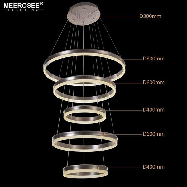 5 Rings D80cm+D60cm+D40cm+D60cm+D40cm