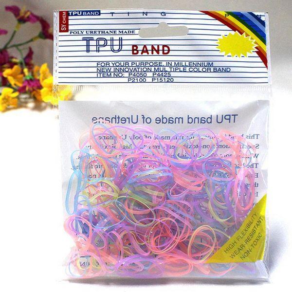 280pcs Pack Bande Élastique Bracelet Style Accessoires De Cheveux Fille Bandeau Clips Gomme Tressage Bandana Ornements Cerceau Lunette Anneau