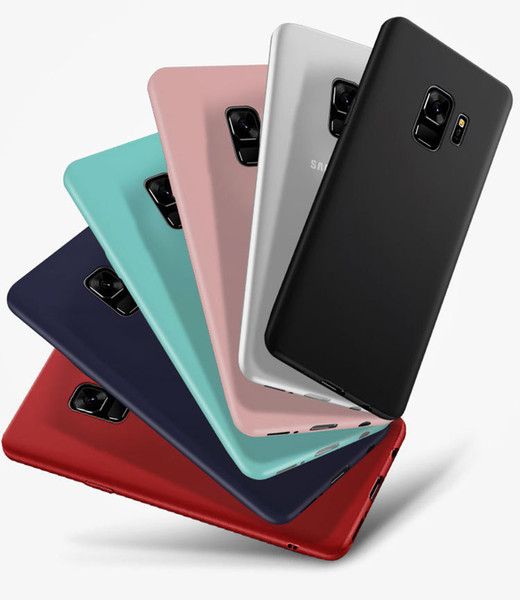 Colorfull ultra thin slim Phone Cases For Samsung A5 A3 A7 J3 J5 J7 C5 C7 C8 Pro 2017 2016 2018 S8 S9 Plus Note 9 8 Mobile Back Case Cover