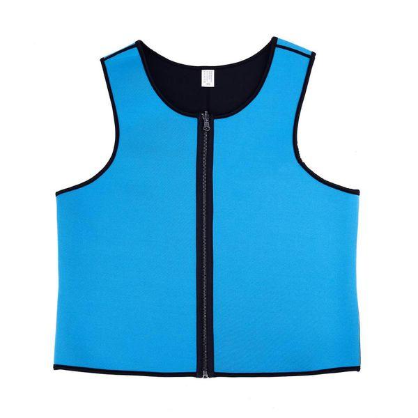 Sauna Sweat Suits Waist Trainer Vests Weight Loss Shapewear Slim Belt Neoprene Workout Suit L