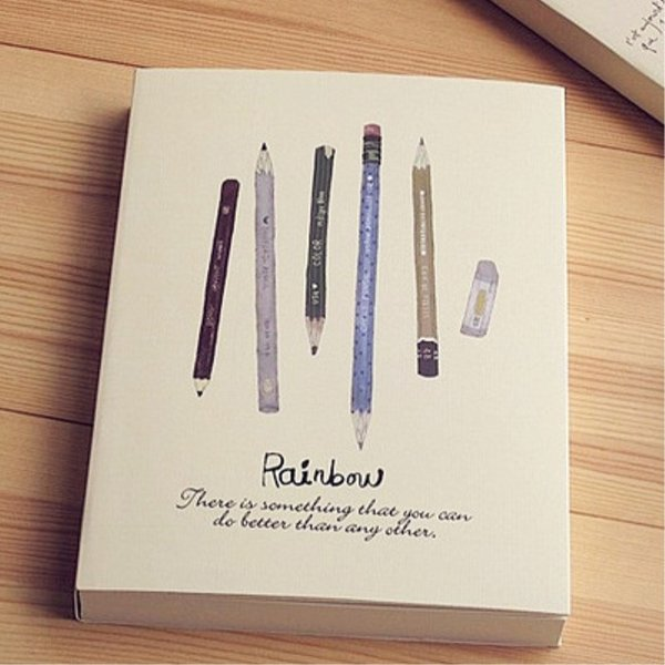 128 Sheets 256 Pages 16k B5 Thick blank Sketching Graffiti white paper Draft Sketch notebook Sketchbook vintage diary drawing