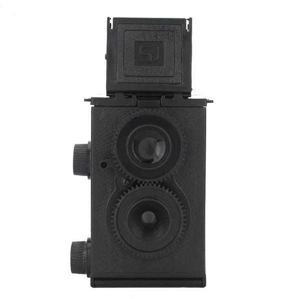 35mm fai da te giocattolo retro lomo macchina fotografica kit twin lens reflex tlr fai da te assemblare film camera giocattolo regalo per i bambini per adulti