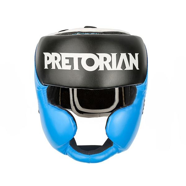 PRETORIAN 1pc Training Head Guards Boxing Helmet Men Women PU Leather Sports Protection Kick Boxing Headgear for mma Muay Thai F