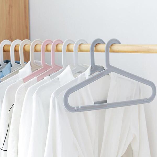Islak Ve Kuru kaymaz Plastik Yetişkin Askı Dikişsiz Pantolon Raf Elbise Askıları 41 * 24 cm Gardırop Organizatör ZA6357