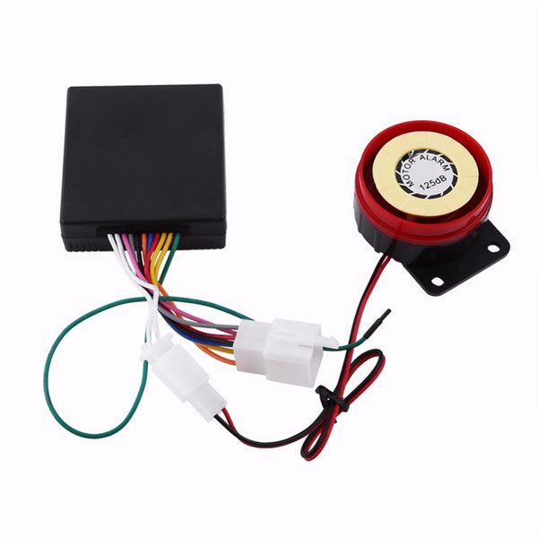 Motorcycle Anti-theft Security Alarm System Single way Remote Control