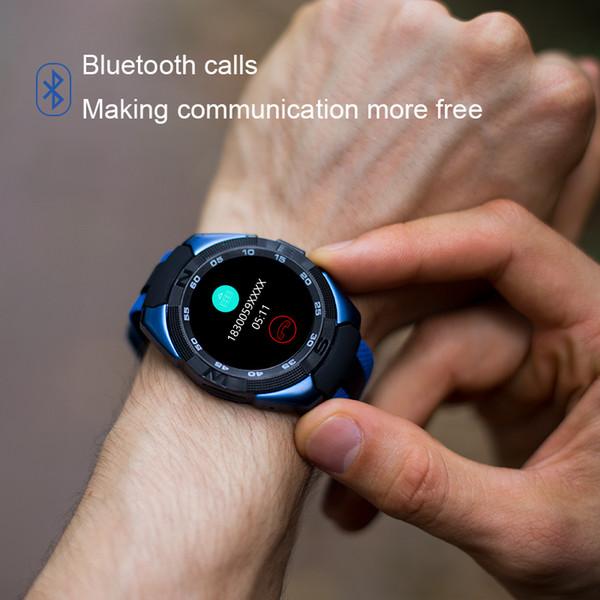 2018 Nuovo L3 Smartwatch Bluetooth più app Monitoraggio della frequenza cardiaca Passometer Touch Screen Smart Bracciale 3colors per choicce