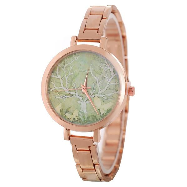 GENBOLI Minimalist Women's Bracelet Watches Clock Fashion Stainless Steel Quartz Watch Ladies Wrist Watches For Couple INS Style