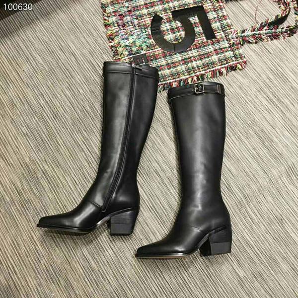 Flachem Größe StiefelOver Mit Luxus Designer BodenLässige Neue Winter Von Xu344601654 The 41 Damen 35 Stiefel Großhandel Knee tsBCxrhQd