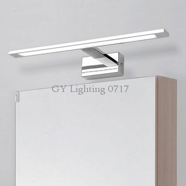 Großhandel Neue Ankunft L48 / 58/68 / 78cm LED Spiegel Frontlampe WC  Spiegel Lampe Badezimmer Make Up Kommode Kosmetikspiegel Lampen Bild Licht  Von ...